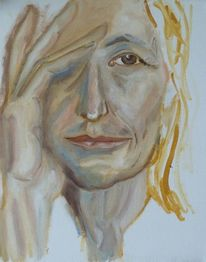 Hand, Ölmalerei, Skizze, Portrait