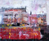Rot, Wasser, Haus, Stadt