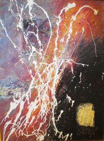 Feuer, Trennung, Inferno, Malerei