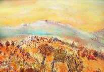 Sizilien, Sonne, Herbst, Malerei
