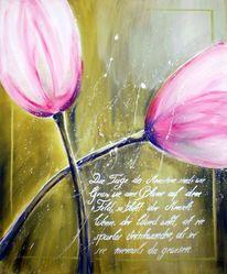 Tulpen, Zart, Frühling, Vergänglichkeit