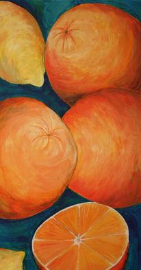 Obst, Stillleben, Farben, Licht