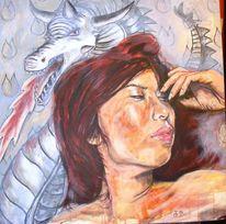 Portrait, Menschen, Frau, Ausdruck