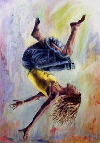 Fallen, Menschen, Malerei, Ölmalerei