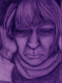 Depression, Leid, Auswegslosigkeit, Frau