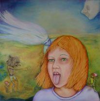 Kobold, Wind, Mädchen, Geist