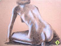Rücken, Zeichnung, Malerei, Menschen