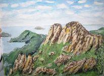 Landschaft, Norden, Meer, Berge