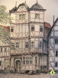 Hotel, Ziegenhain, Haus, Zeichnung
