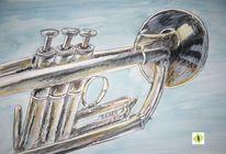 Trompete, Polycromes, Musik, Instrument