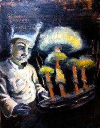 Politik, Nuklear, Abschreckung, Waffe