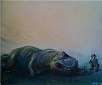 Dinosaurier, Portrait, Jagd, Rex