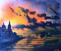 Aachen, Meer, Dom, Malerei