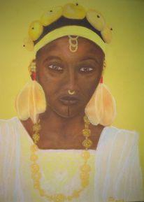 Afrikaner, Kultur, Pastellmalerei, Portrait