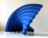 Holz, Dynamische skulptur, Entfaltung, Architektur