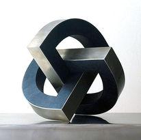 Metall, Dynamisch, Konstruktion, Plastik
