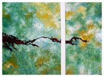 Malerei, Abstrakt, Traum