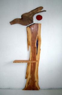Zwetschge, Holz, Lärche, Garderobe