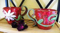 Tasse, Glasur, Ton, Keramik