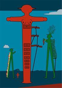 Ampelmann, Salvador dalí, Ampelmännchen, Brennende giraffe