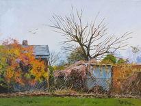 Herbst kleingärten, Malerei, Herbst