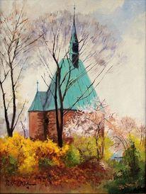 Magdeburger, Frühling, Magdalenenkapelle, Malerei
