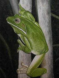 Tiere, Tiermalerei, Frosch, Irina wall