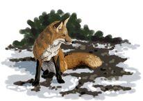 Digital, Irina wall, Tiere, Tiermalerei