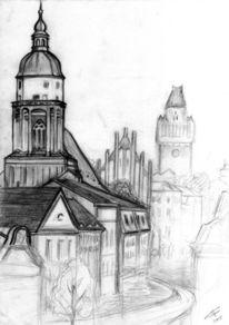 Oberkirche, Cottbus, Pinnwand
