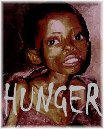 Weltkrise, Hunger, Neuverteilung, Digitale kunst