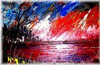 Meer, Ölmalerei, Usedom, Malerei