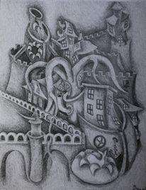 Zeichnungen, Landung, Rom