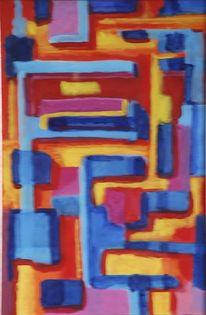 Malerei, Platz, Hammer