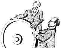Betriebsrat, Anilien, Zeichnungen, Drehen