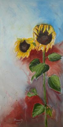 Malerei, Pflanzen, Herbst