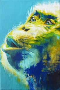 Menschenaffen, Bonobo, Affe, Portrait