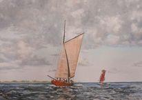 Wind, Zeesboote, Segel, Meer