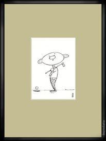 Golf, Zeichnungen,