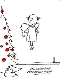 Böse weihnachten, Spezial, Weihnachten, Malerei