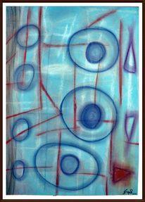 Bunt, Pastellmalerei, Malerei, Zeichnungen