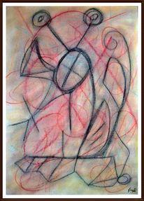 Bunt, Malerei, Farben, Pastellmalerei