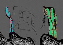 Comic, Digitale kunst, Surreal, Hexe