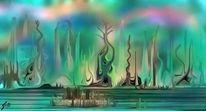 Bunt, Mythos, Digitale malerei, Fantasie