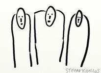 Comic, Abstrakt, Digitale kunst