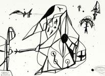 Surreal, Fiktion, Zukunft, Digitale kunst