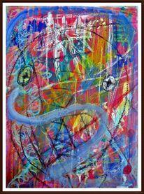 Farben, Modern, Verträumt, Malerei