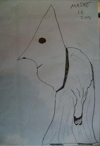 Malerei, Maske