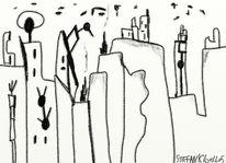 Abstrakt, Comic, Digitale kunst