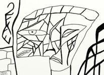 Abstrakt, Surreal, Zeichnungen,