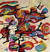 Expressionismus, Abstrakt, Ölmalerei, Meditations